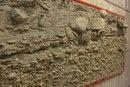 Укрепленная стена римской гавани.
