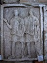 Metope XXII: Emperor Trajan. Метопа 22: Император Траян