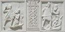 Современная реконструкция метопов Трофея Траяна