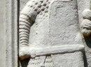 Фрагмент метопы Трофея Траяна с маникой